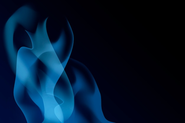 青い炎の背景