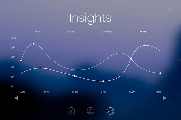 グラフィックの背景