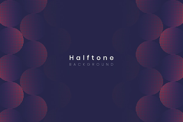 ハーフトーングラデーションの背景
