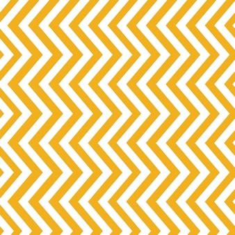 マスタードイエローのシームレスなジグザグパターン