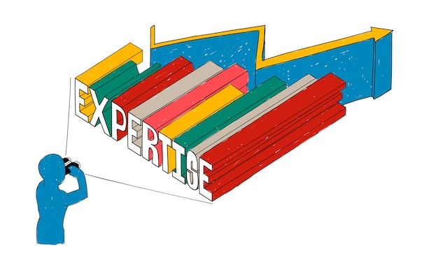 Иллюстрация деловой экспертизы