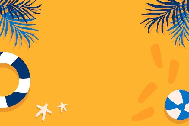 熱帯の夏デザイン