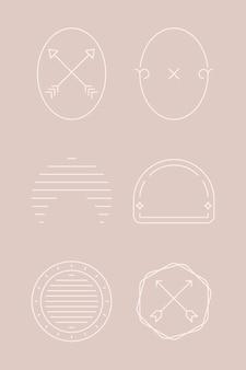 シンプルな装飾的な要素