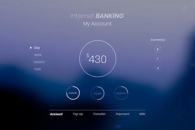Взгляд в интернет-банкинг