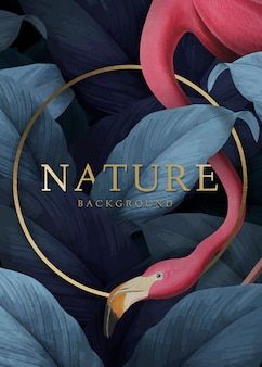 熱帯の自然の背景