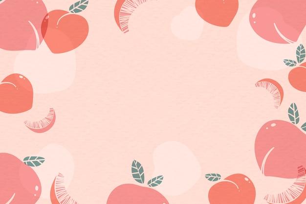 ピンクの桃の背景