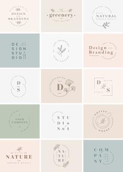 Классический набор логотипов