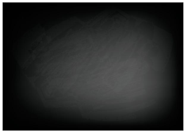 黒い黒板の背景の水平方向のテクスチャ