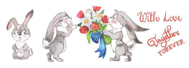 水彩の幼年期のクリップアート。招待状、新生児やグリーティングカードに最適です。