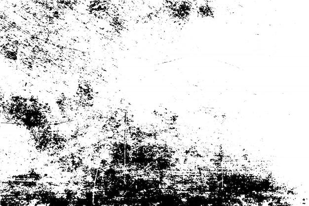 Черно-белая гранжевая текстура