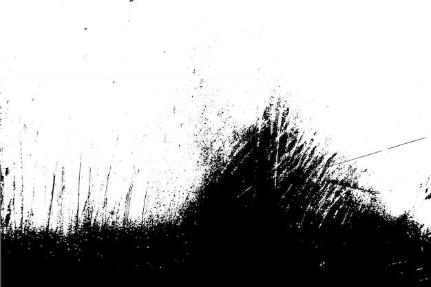 抽象的なベクトル黒と白のグランジ表面テクスチャ背景。