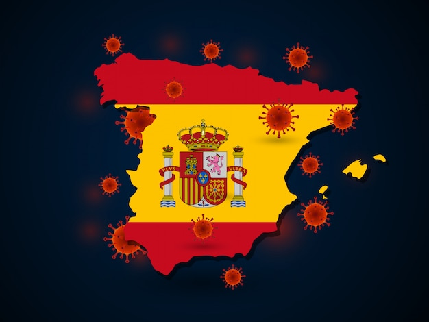 Вирус вокруг испании