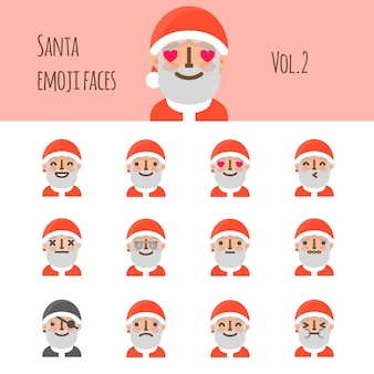 サンタの顔文字