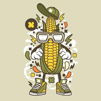 トウモロコシの子供たち