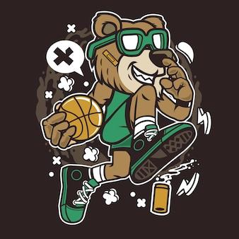 ベアバスケットボール