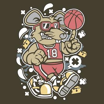 ラットバスケットボール選手