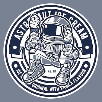 宇宙飛行士のアイスクリーム