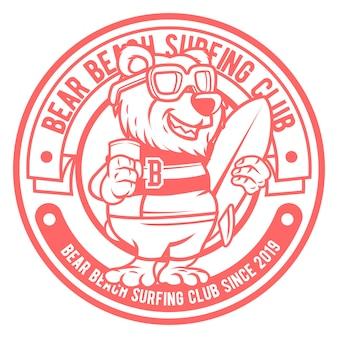 ベアビーチのロゴ