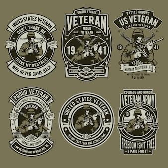 ベテラン兵士