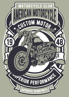 Американский мотоцикл
