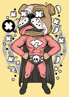 Иллюстрация суперпуг