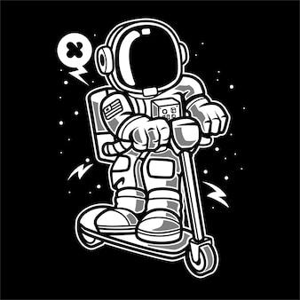 Скутер астронавта
