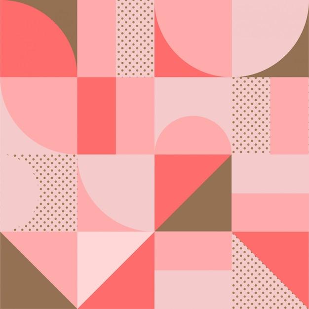 幾何学的なミニマルなパターン