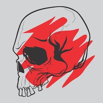 元の頭蓋骨