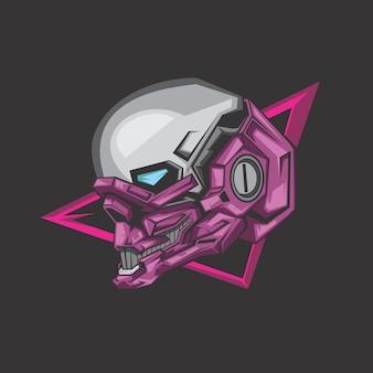 紫色のロボット