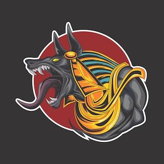 アヌビスのロゴ