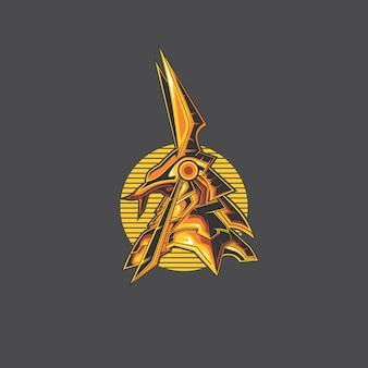 Логотип анубис