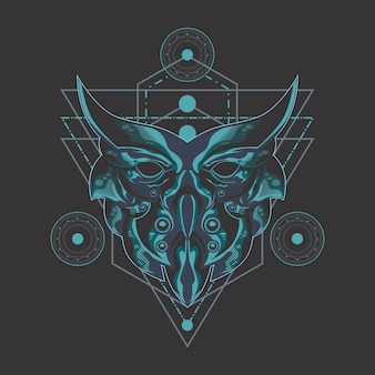 ダークフクロウの神聖な幾何学