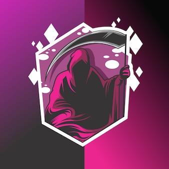 Логотип мрачного жнеца