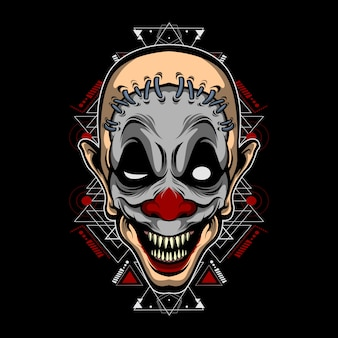 Монстр клоун