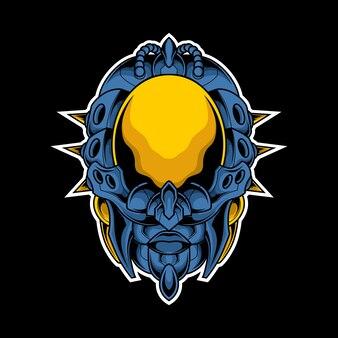 Человеческая кибер-голова