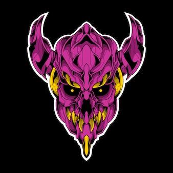 Фиолетовый демон