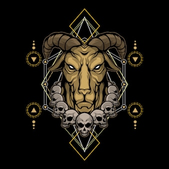 悪魔の山羊の神聖な幾何学