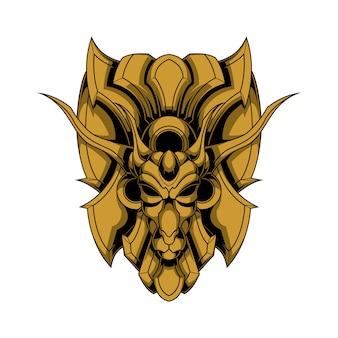 鉄の鹿のロゴ