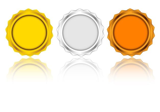 メダルベクトルデザイン