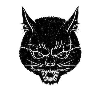 Кошачье лицо