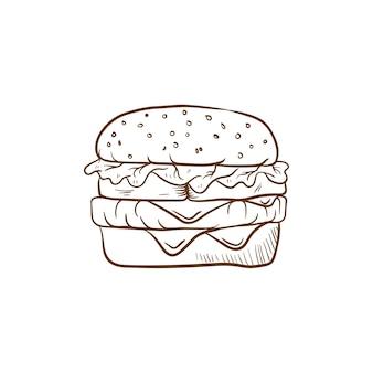 Гамбургер ручной работы