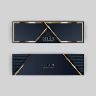 Блеск фоновый свет с абстрактным цветом современная технология баннер золото