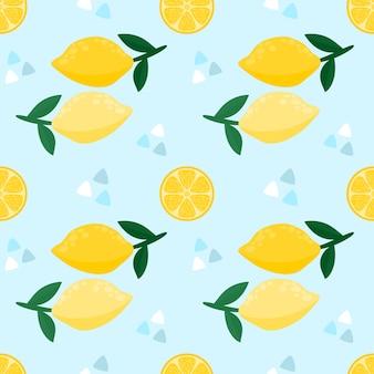 Бесшовные лимон