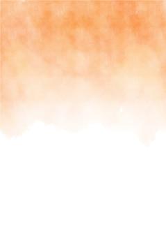 抽象的な手は、ハロウィーンの水彩画を描いた。