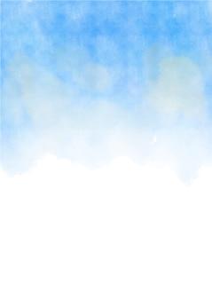 背景に描かれた抽象的な手描きの水彩。