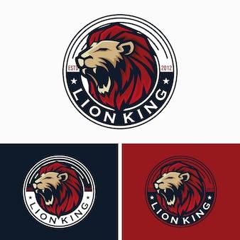 クリエイティブライオンのロゴのテンプレート