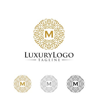 Шаблоны логотипов класса люкс