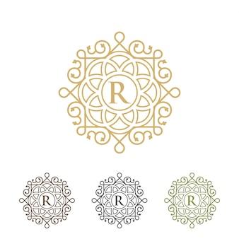 高級ロゴのテンプレート