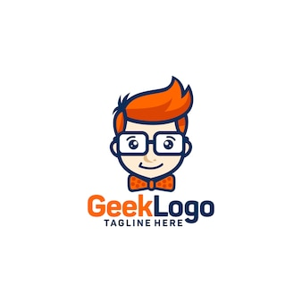 Компьютерщик логотип дизайн шаблона вектор