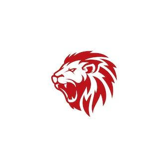 ライオンのロゴのベクトルテンプレート